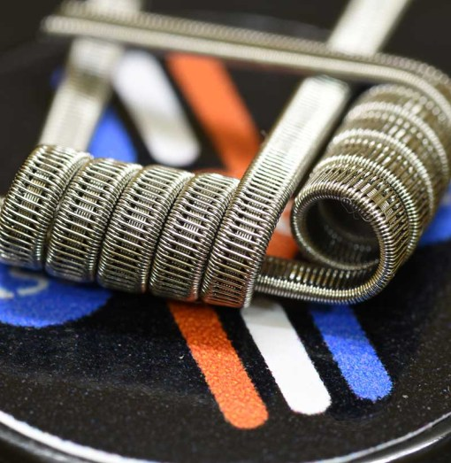 Staple Staggered Fused Clapton-Easy Coil (2pcs)