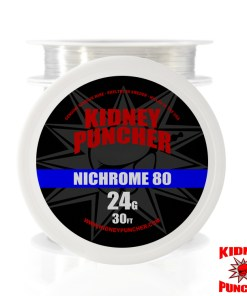 Kidney Puncher Nichrome 80 Wire 30 feet | Made in the USA. This is NOT China wire | Best Vaping Wire For your Rebuildables | Vape Egypt
