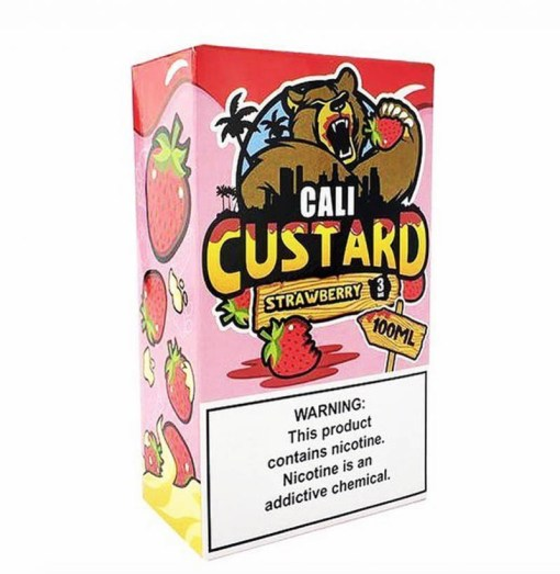 Strawberry-Cali Custard-100ml