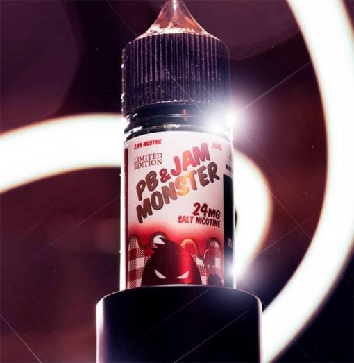 PB & Jam Monster Strawberry-Jam Monster Salts-30ML