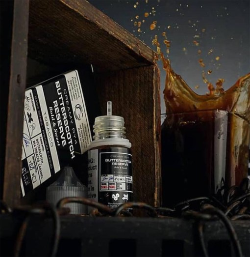 Butterscotch Reserve-Glas Basix Salts-30ml