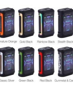 Geekvape Aegis X 200W TC Mod colors