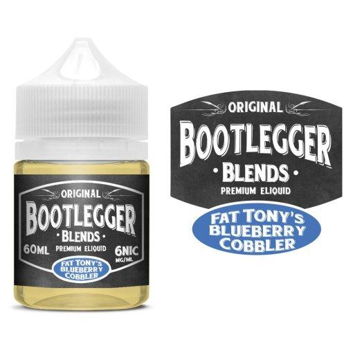 Fat Tony's Blueberry Cobbler MTL Bootlegger Blends