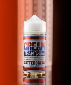 Cream Team Buttercream Ejuice | Obsession Vape Store Egypt. Original Imported Premium E liquid. Buttercream E juice by Cream Team E liquid