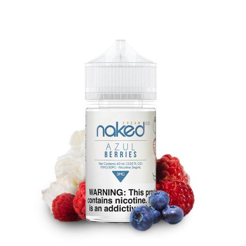 Naked 100 Cream Azul Berries eLiquid 60ml