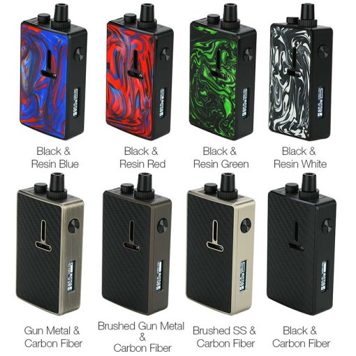 Mechlyfe Ratel XS AIO 80W TC Rebuildable Pod Kit Colors