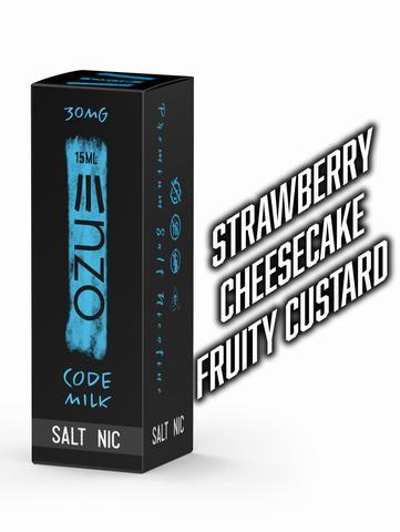 Code Milk Salt Enzo E Liquid 15ml