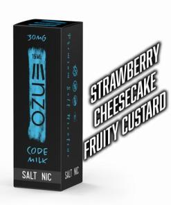Code Milk Salt Enzo E Liquid 15ml
