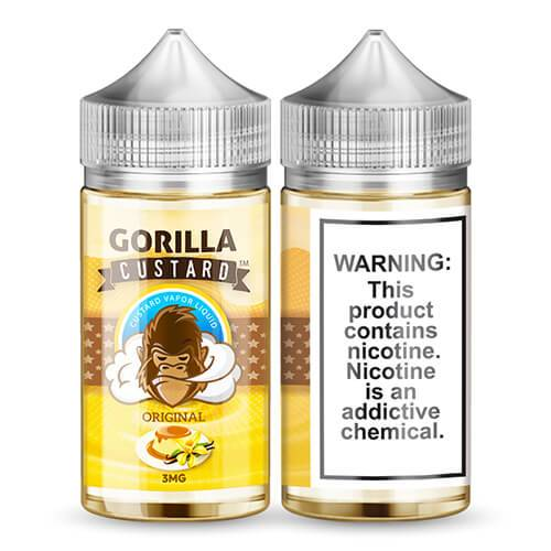 Gorilla Custard Original eLiquid 100ml