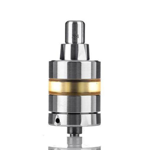 SVOE MESTO KAYFUN LITE 22MM MTL RTA Svoe Mesto presents the Kayfun Lite 22mm MTL Rebuildable Tank Atomizer, a single coil mouth to lung RTA. The Kayfun Lite RTA's build deck features a dual post single terminal build deck and an adjustable airflow slot located within the 510 of the RTA which siphons air straight through the bottom of the build deck. With a single stainless steel finish and interchangeable tanks sections the Kayfun Lite can be customized to look great on a multitude of mods. For user customization, an added 2ml PEI tank and an engraved stainless steel drip tip is included in the package. Going more in depth with the Kayfun Lite, this rebuildable tank atomizer measures at 22mm in base diameter, allowing for most, if not a high percentage of vape devices in the market. E-liquid can enter the Kayfun Lite by simply removing the base of the build deck located at the lower section of the atomizer. It can accommodate a maximum of 2ml with the pre-installed straight PEI Fire tank section and for those that prefer a larger tank, a 4ml capacity extended tank can be purchased separately. Airflow enters the RTA through a single adjustable airflow hole located within the 510 of this atomizer. This airflow control hole measures 3mm in diameter and can be tapered down to 1.8mm. Internally, the Kayfun Lite RTA features the a two post single terminal build deck that features a 5mm deep juice well. Each terminal measures at 5mm by 2.5mm and can accommodate a single coil build configuration. As an added feature for ease of use, two slots are located around each connection for users to easily slide their coils around each post to prevent the coil from shorting. Each corner end of the build deck features a cutout for cotton to snuggly fit in. In the center of the build deck is a single airflow slot (measuring at 2mm in diameter) which allows direct airflow to the coil, delivering perfect flavor on each puff. Overall the Kayfun Lite MTL RTA by Svoe Mesto is a perfect exam