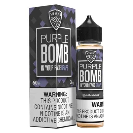VGOD Purple Bomb eLiquid 60ml