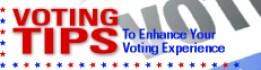 voter tips