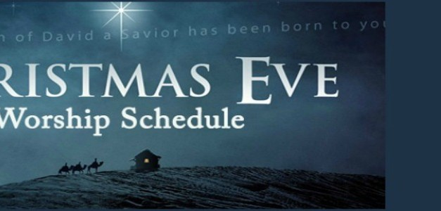 Local Church Christmas Eve Services for 2015