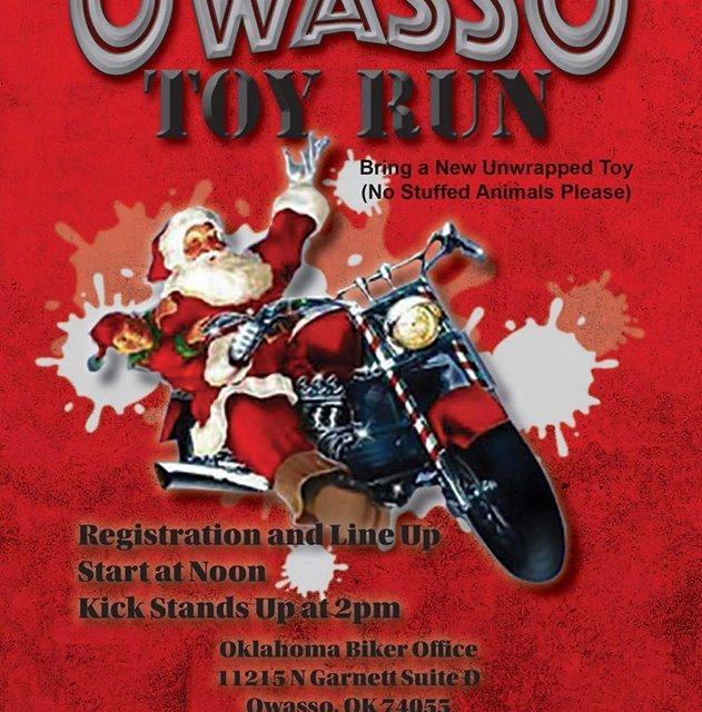 Owasso Toy Run set for October 23