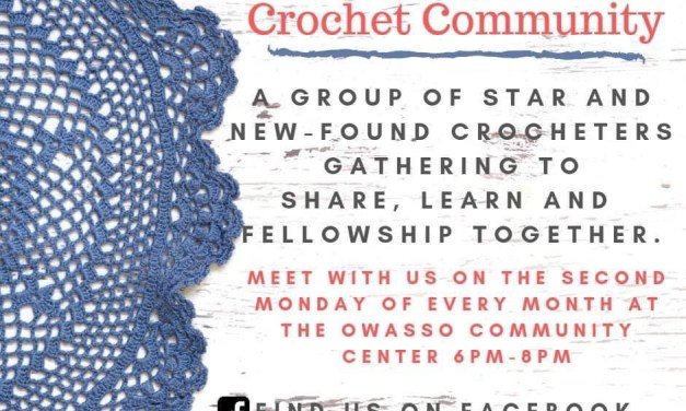 Owasso Crochet Community Meeting at Owasso Community Center