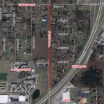 County Road Work on 129th East Ave Between 96th and 106