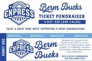 Baseball Berm Bucks Benefit