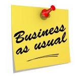 """""""Business as usual"""" är riskfyllt i en föränderlig värld."""