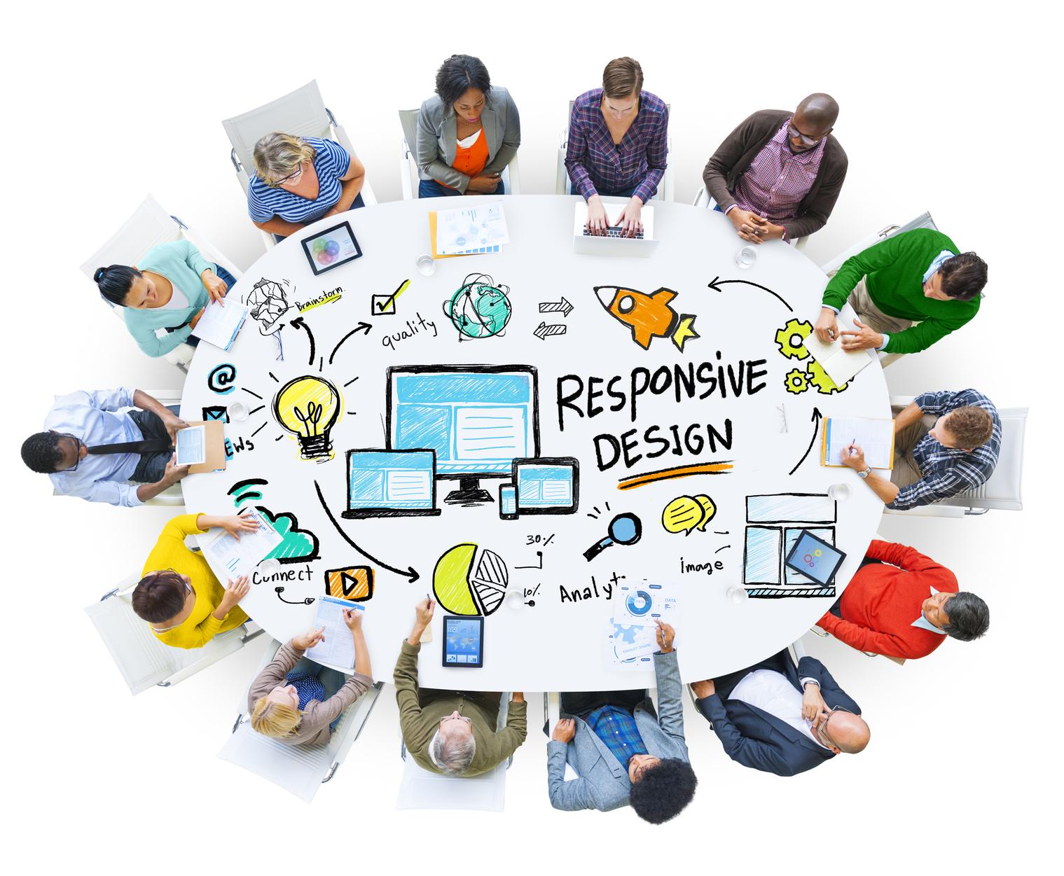 Responsive Design Internet