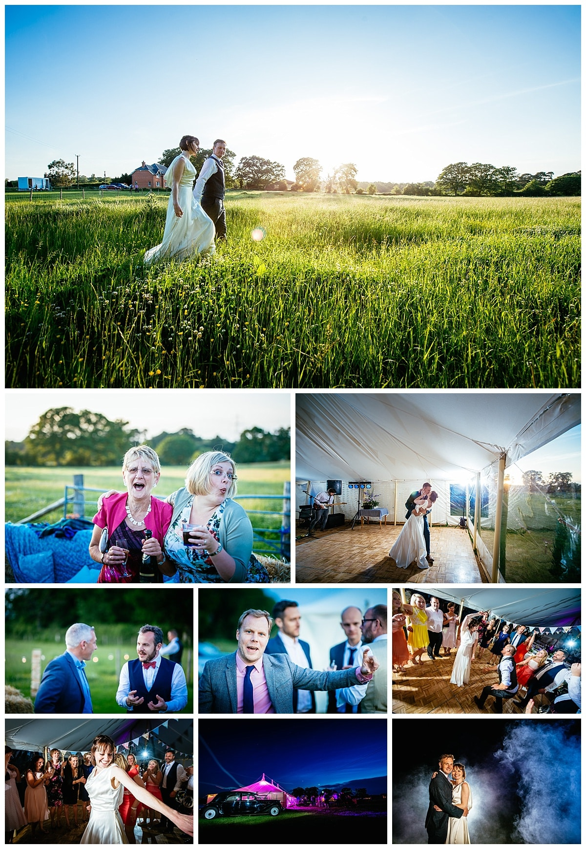 Rownhams House and Marquee wedding photography in hampshire