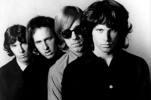 Classic shot of The Doors