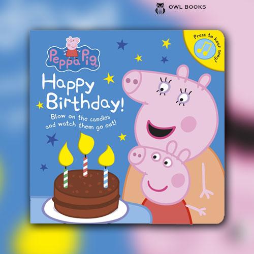 Peppa Pig Happy Birthday Owlbooks Dk