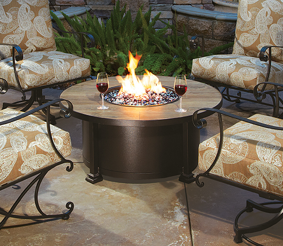 Click an image to download high-resolution photo. - Casual Fireside - O.W. Lee