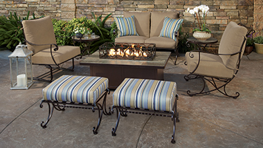 Wrought Iron U0026 Steel Collections. Hand Crafted Patio Furniture ...