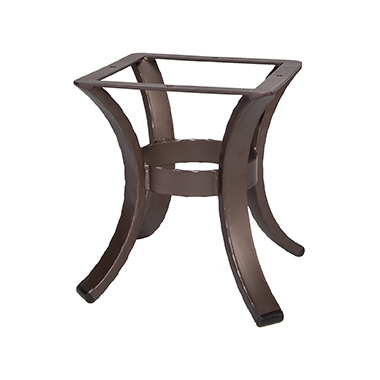 OW Lee Hammered Iron Side Table Base