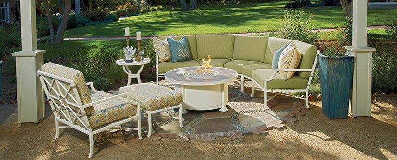 By offering consumers less time maintaining and more time lounging, OW Lee  has helped to take outdoor furnishings into the next generation. - Today's Fabrics Set The Tone For The Outdoor Room - O.W. Lee