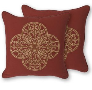 OW Lee Emblem Venezia Throw Pillow