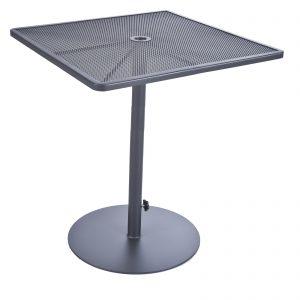 OW Lee Pedestal Iron Bar Table