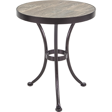 OW Lee Iron Accent Side Table