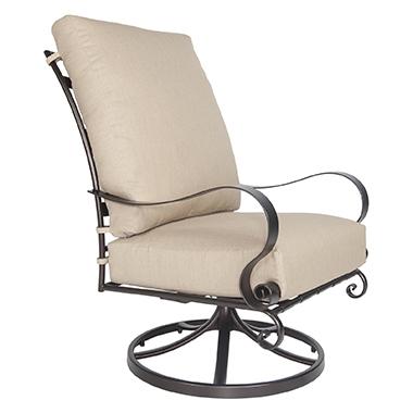 OW Lee Marquette Hi-Back Swivel Rocker Lounge Chair