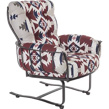 OW Lee Pendleton Mini Monterra Spring Base Lounge Chair