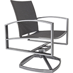 OW Lee Pacifica FC Swivel Rocker Dining Arm Chair
