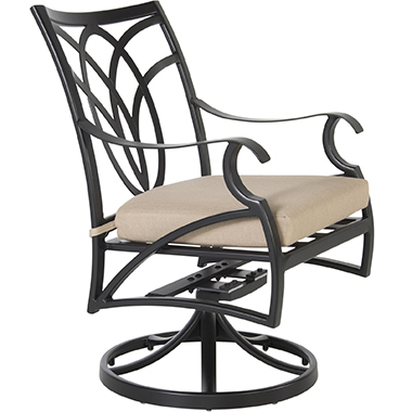 OW Lee Swivel Rocker Dining Arm Chair