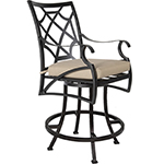 OW Lee Grand Cay Swivel Counter Stool