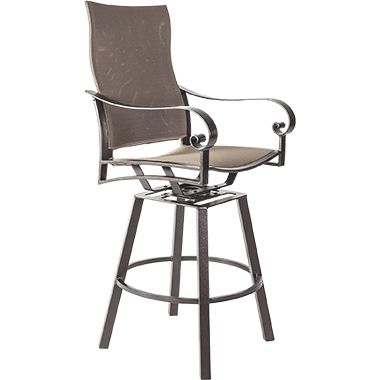 OW Lee Pasadera Flex Comfort Swivel Counter Stool with Arms