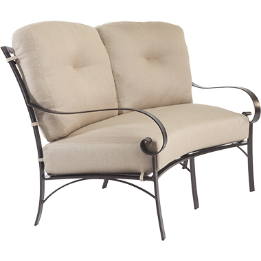 OW Lee Pasadera Crescent Love Seat