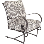 OW Lee Pendleton Classico Spring Base Lounge Chair