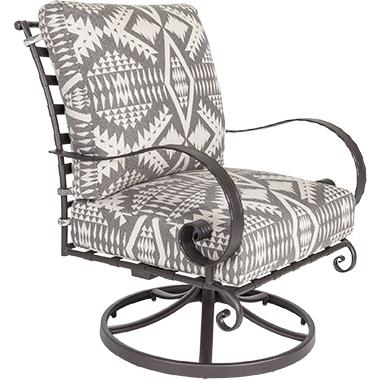 OW Lee Pendleton Classico Swivel Rocker Lounge Chair