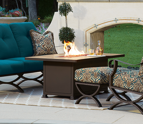 OW Lee Casual FireSide Luxury Outdoor Patio Furniture
