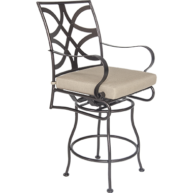 OW Lee Marquette Swivel Counter Stool