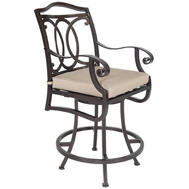OW Lee Palisades Swivel Counter Stool