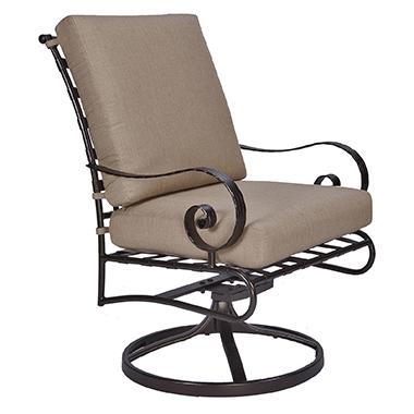 OW Lee Classico Swivel Rocker Club Dining Arm Chair
