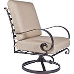 OW Lee Classico Swivel Rocker Lounge Chair