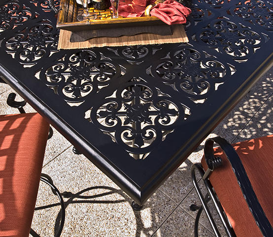 OW Lee Table Top Mesh Luxury Outdoor Patio Furniture