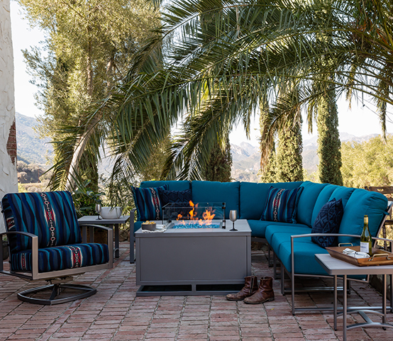 OW Lee Pendleton Pacifica Luxury Outdoor Patio Furniture