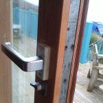 Before, with broken lock
